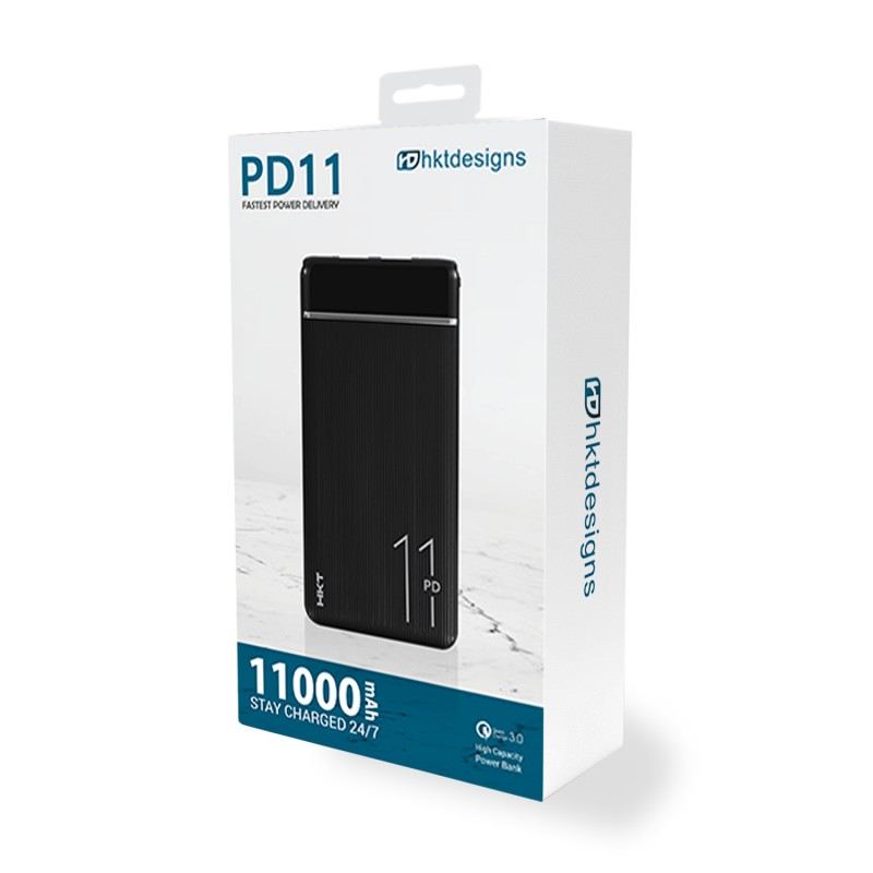 HKT PD-11 Fast Charging 11000mAh Power Bank