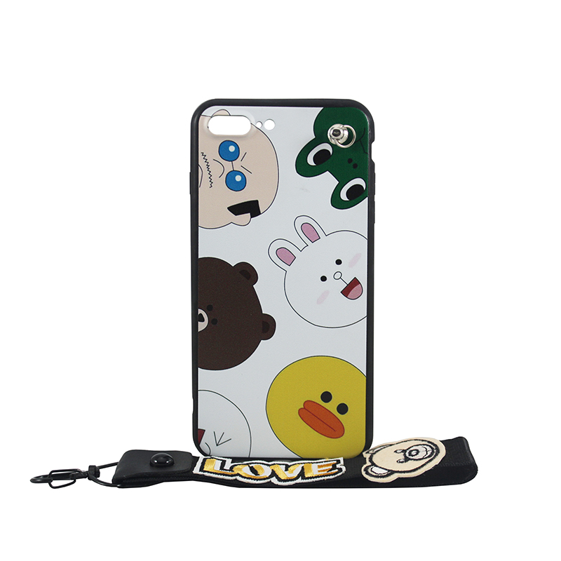 HKT Love Bear Mobile Cover for iPhone (6/6s, 7/8, 7/8P) and Android (J730, J7Prime, A57, A59, J5Prime, j5)