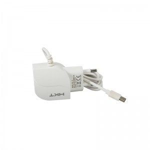 HKT 2.1 Fast Charger With Cable and USB Port