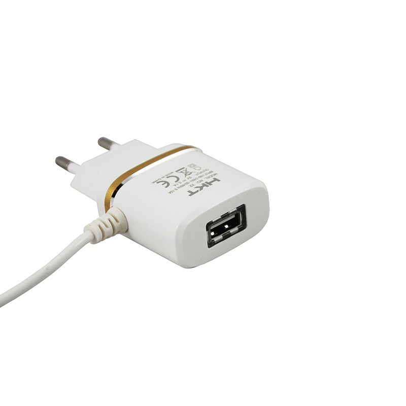 HKT 3.1 Fast Charger With Cable and USB Port
