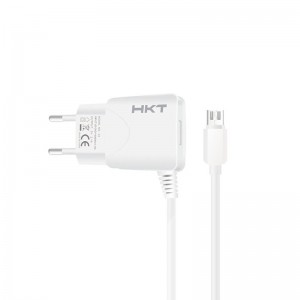 HKT 2.1 Fast Home Charger for Android and iPhone