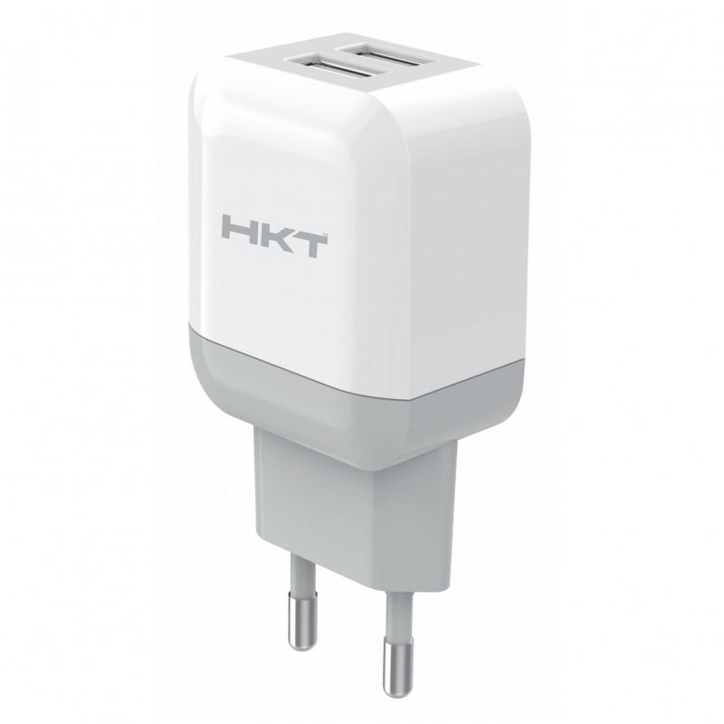 HKT 3.1A Dual USB Ports Quick Charger