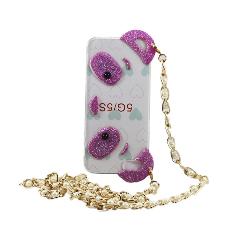 HKT Purse Handbag Chain Case Cover for Samsung and iPhone